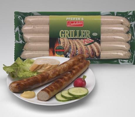 Grillwurst, fein