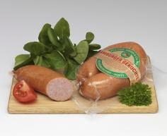 Hamburger Gekochte Mettwurst