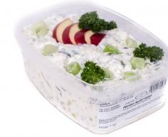Porree-Apfel-Salat